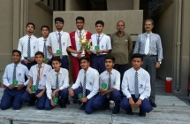 Inter-School Basketball tournament organized by St. Patrick's High School
